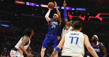 Dallas Mavericks at Los Angeles Clippers
