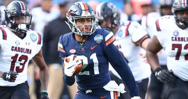 Virginia Cavaliers safety Juan Thornhill