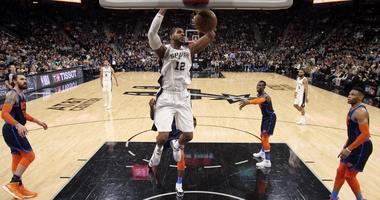 Oklahoma City Thunder at San Antonio Spurs
