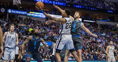 San Antonio Spurs at Dallas Mavericks
