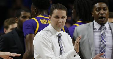LSU Tigers head coach Will Wade