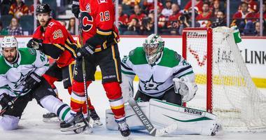 Dallas Stars at Calgary Flames