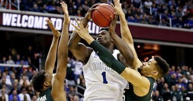 NCAA Tournament-East Regional-Michigan State vs Duke