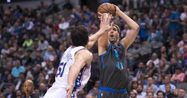 Philadelphia 76ers at Dallas Mavericks