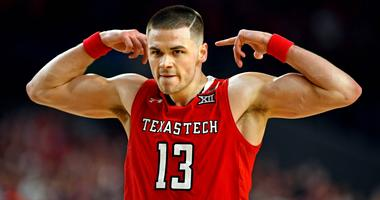Texas Tech Red Raiders guard Matt Mooney