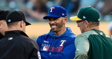 Texas Rangers manager Chris Woodward