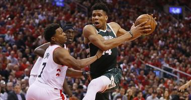 Milwaukee Bucks forward Giannis Antetokounmpo