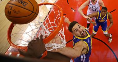 Golden State Warriors guard Klay Thompson