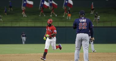 Texas Rangers Home Run