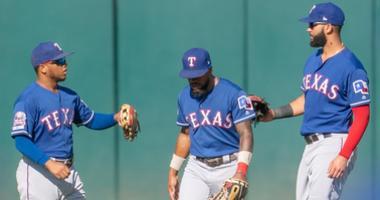 Texas Rangers at Oakland Athletics