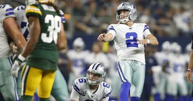 Dallas Cowboys kicker Brett Maher