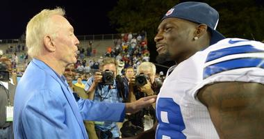 Dez Bryant and Jerry Jones