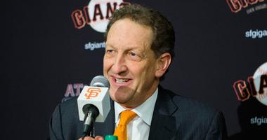 San Francisco Giants chief executive officer Larry Baer