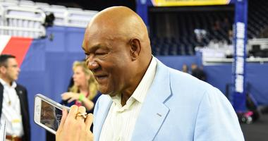 Former professional boxer George Foreman