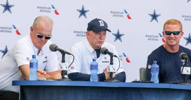 Cowboys Training Camp (Jerry Jones, Stephen Jones, & Jason Garrett)