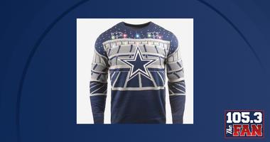 sports shoes 9bd85 637e1 Christmas Sweater   105.3 The Fan