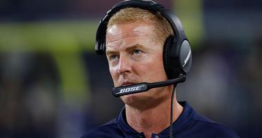 Dallas Cowboys coach Jason Garrett