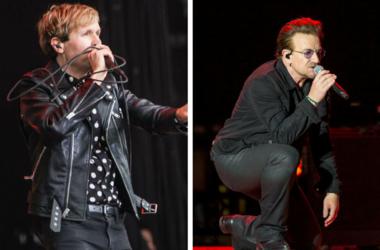 Beck and U2's Bono