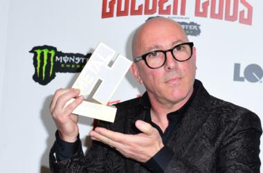 Maynard James Keenan wins the Icon award at the Metal Hammer Golden Gods Awards 2018