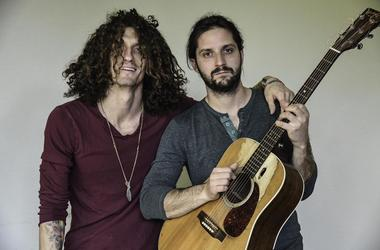 Recording artists David Shaw and Zack Feinberg of The Revivalists