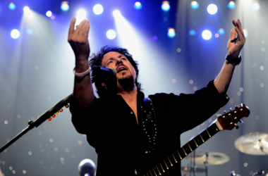 Toto's Steve Lukather celebrating Yamaha's 125th Anniversary
