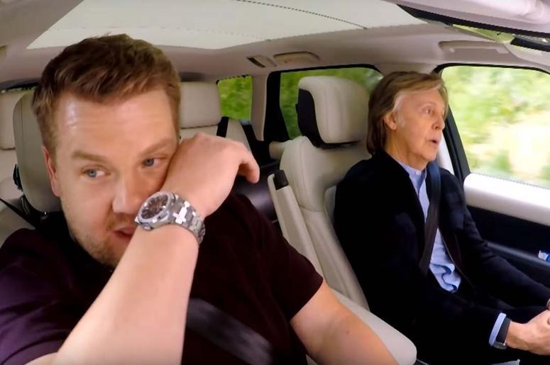 Internet Roundup: Carpool Karaoke With Paul McCartney