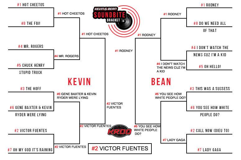Kevin and Bean Soundbite Bracket   The World Famous KROQ
