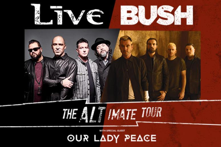 Live and Bush Announce US Tour | The World Famous KROQ
