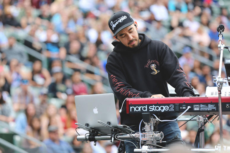 Mike Shinoda at KROQ Weenie Roast 2018