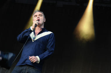Morrissey performs onstage during day 2 of the Firefly Music Festival on June 19, 2015