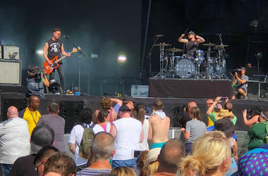 Royal Blood Perform at the Firefly Music Festival in Delaware
