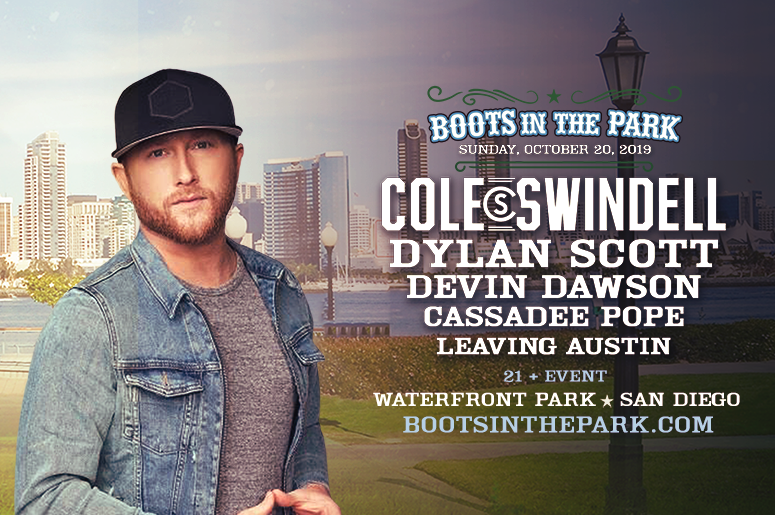 Win Tickets To Boots In The Park feat. Cole Swindell!