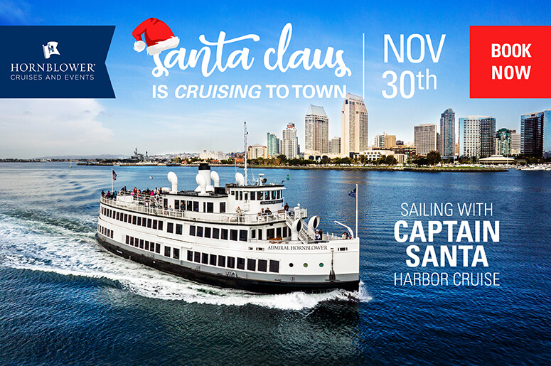 Sailing with Santa | Win Tickets for the Hornblower!