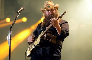 Chris Stapleton performs onstage during the 2018 CMA Music festival