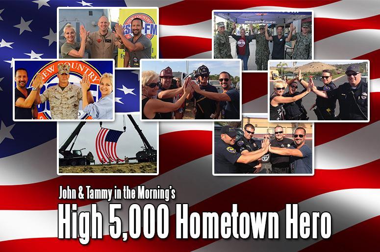 High 5,000 Hometown Hero