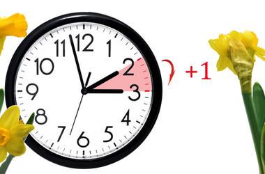 Clock springing ahead