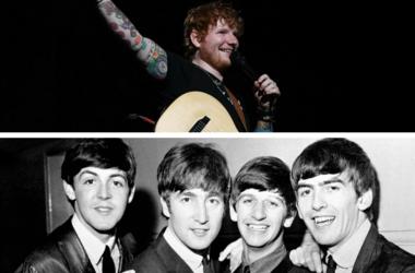 Ed Sheeran and The Beatles