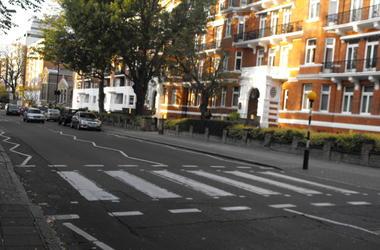 Abbey Road Minus The Beatles