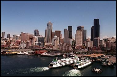 Seattle Skyline, Pacific Northwest, Seattle Freeze