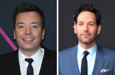 Jimmy Fallon and Paul Rudd