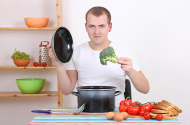 dad cooking