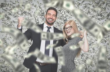 Office lottery winners