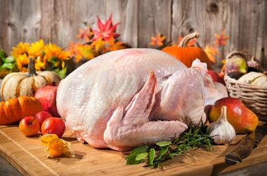Thawed turkey