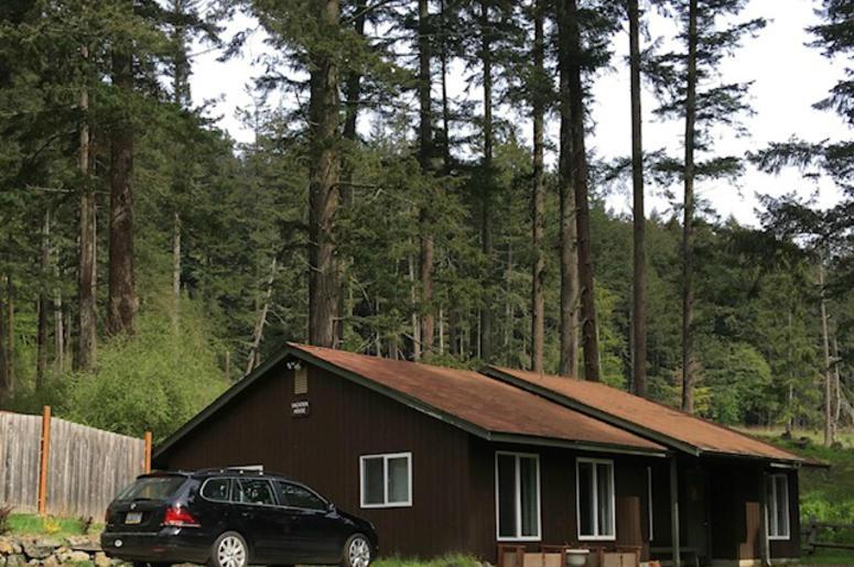 Cabin at Moran State Park