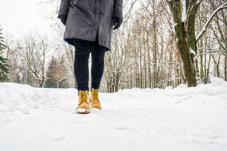Icy walk