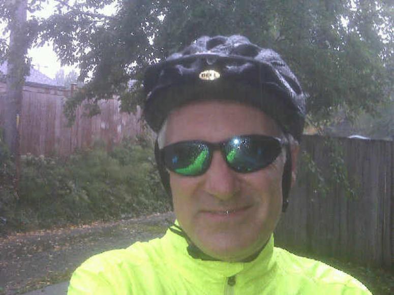 John on a bike