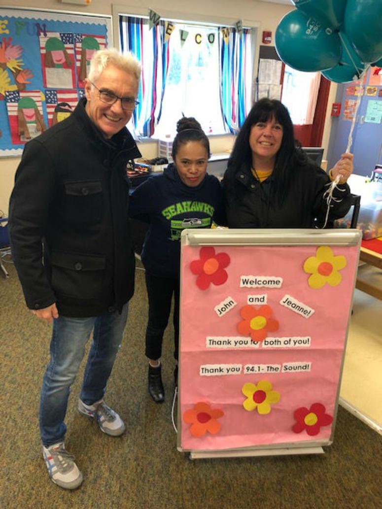John & Jeanne welcomed to Sherwood Forest preschool in Bellevue