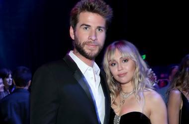 Liam Hemsworth and Miley Cyrus