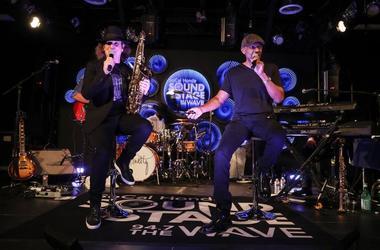 Frankie Ross Interviews Boney James  at the SoCal Honda Sound Stage