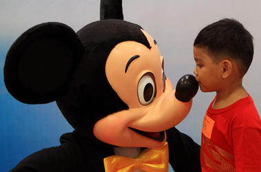Mickey Mouse, Disney, Young Boy, Child